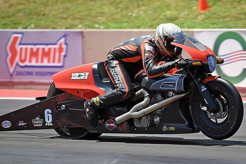 Harley-Davidson Wins At Dodge Mile-High NHRA National Drag Race