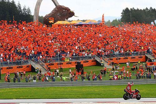 Lleno de espectadores en las dos carreras de MotoGP en Austria