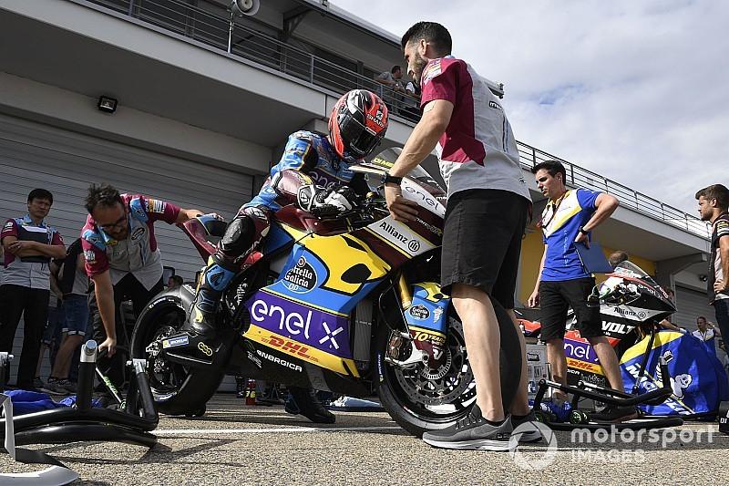 Di Meglio se alza con la pole de MotoE en Austria