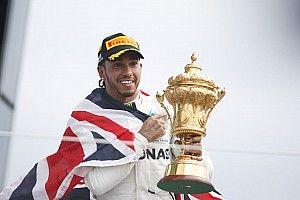 Hamilton se junta a Schumi, Fangio e Prost no clube de maiores vencedores em seus países