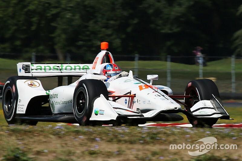 Herta dominates second Laguna Seca test session