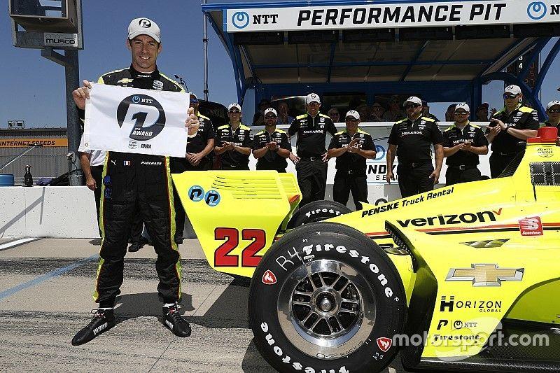 Iowa IndyCar: Pole pozisyonunun sahibi Pagenaud