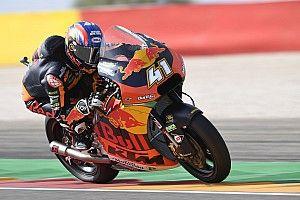 Moto2, Aragon: festa per Binder e la KTM, Marquez allunga