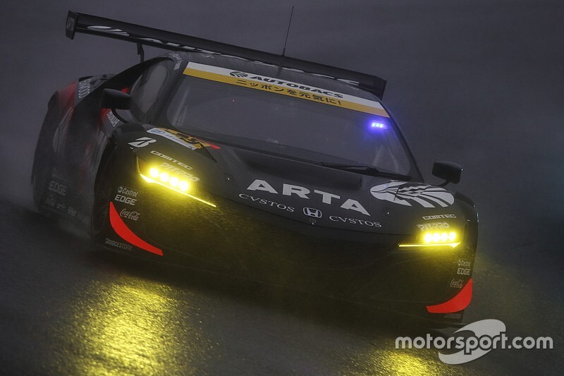 第7戦SUGO決勝|GT300はARTA NSX GT3が今季初V、王座獲得に大きく近づく