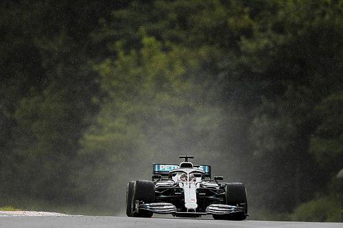 """Hamilton : """"La météo était vraiment compliquée"""""""