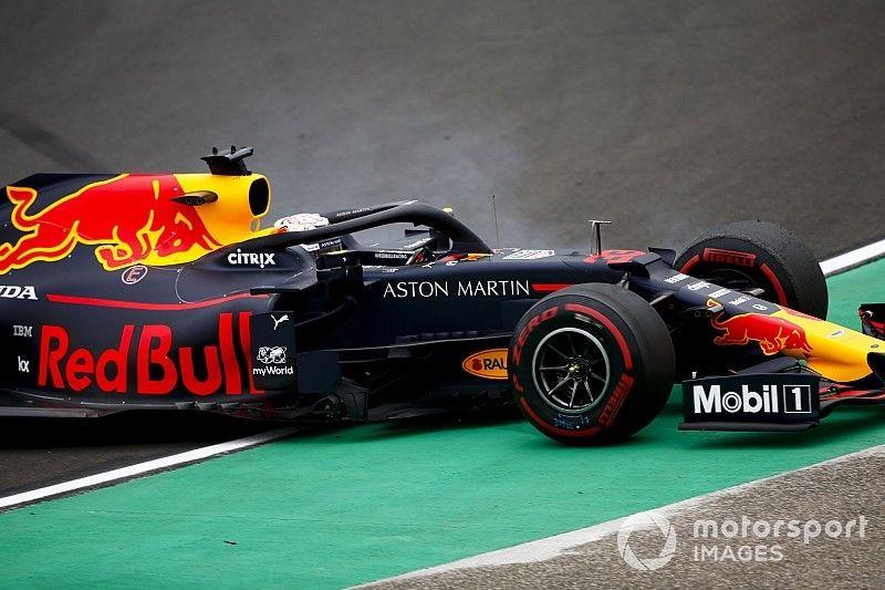 Verstappen: Los trompos fueron por experimentar
