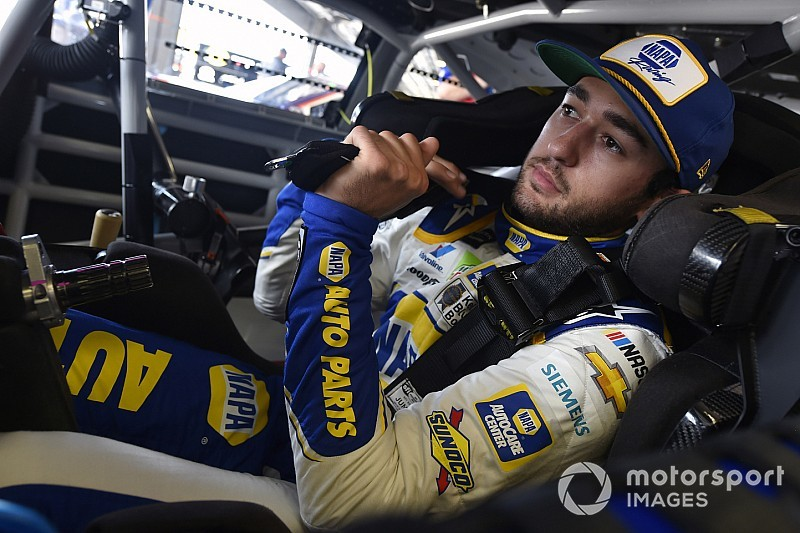 Chase Elliott leads the way in final Cup practice at the Glen