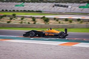 Vidales finaliza un prometedor primer test de F3 con Campos Racing