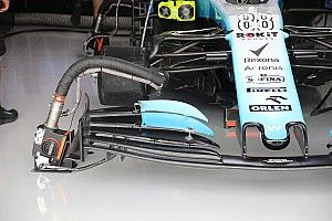 Technique - Williams teste un nouvel aileron avant à Suzuka