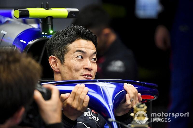 Yamamotót lenyűgözte az F1-es autó ereje