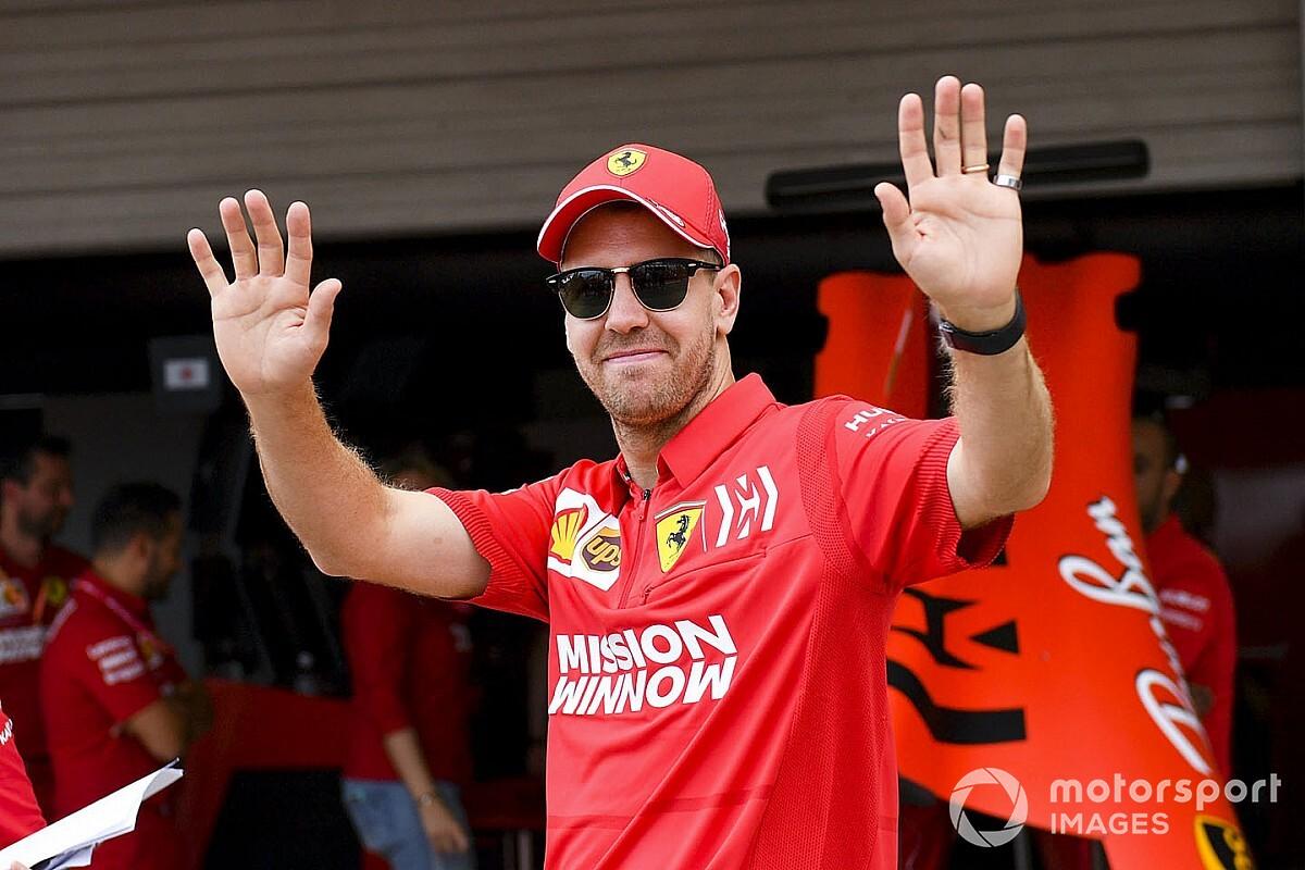 """Vettel: """"Leclerc? Non è il compagno più difficile!"""""""
