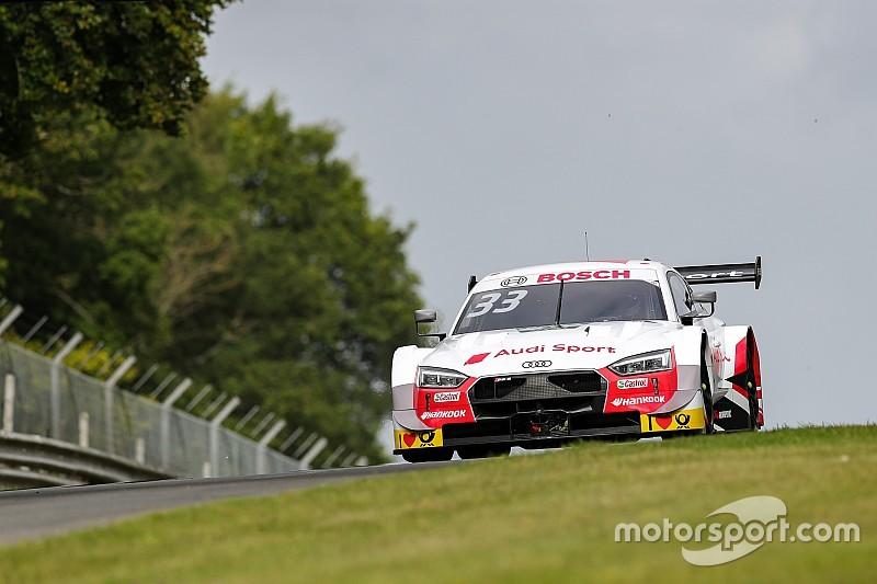 Раст выиграл вторую квалификацию DTM на «Брэндс-Хэтче», пилоты Audi заняли первые восемь мест