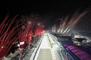 Szingapúr nézőkkel együtt tartott F1-es futamra készül