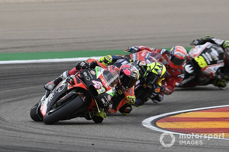 "Espargaro's Aragon result not ""reality"" for Aprilia"
