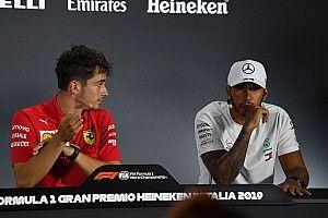 """Leclerc: """"Hamilton é bom em antecipar o movimento de seus rivais"""""""