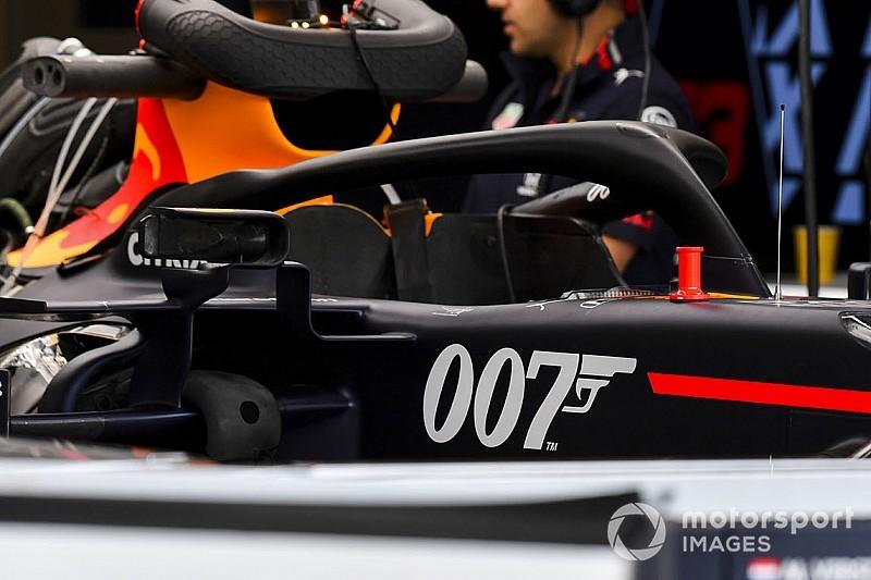 Red Bull lucirá en Silverstone una decoración inspirada en James Bond