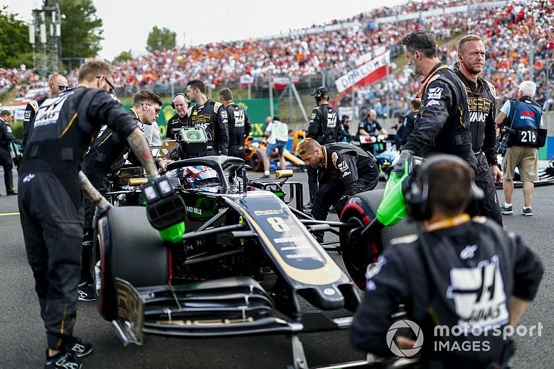 Грожан допустил возвращение Haas к старой конфигурации шасси