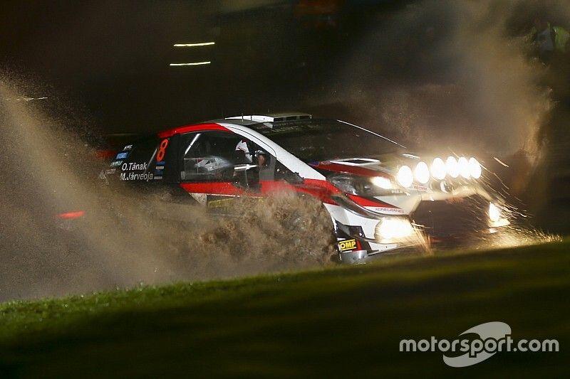 WRC, Rally Galles, PS17: Tanak risponde a Neuville