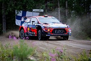 Finland WRC: Neuville holds narrow lead after SS1