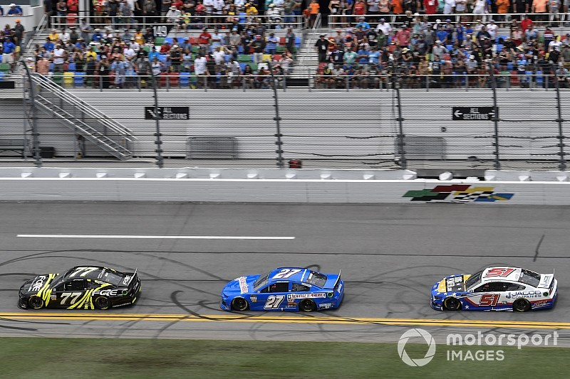 Even a NASCAR 'feel good' story gets engulfed in controversy
