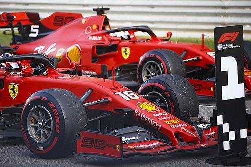 """Hamilton: """"Topsnelheid Ferrari als een jetmodus"""""""