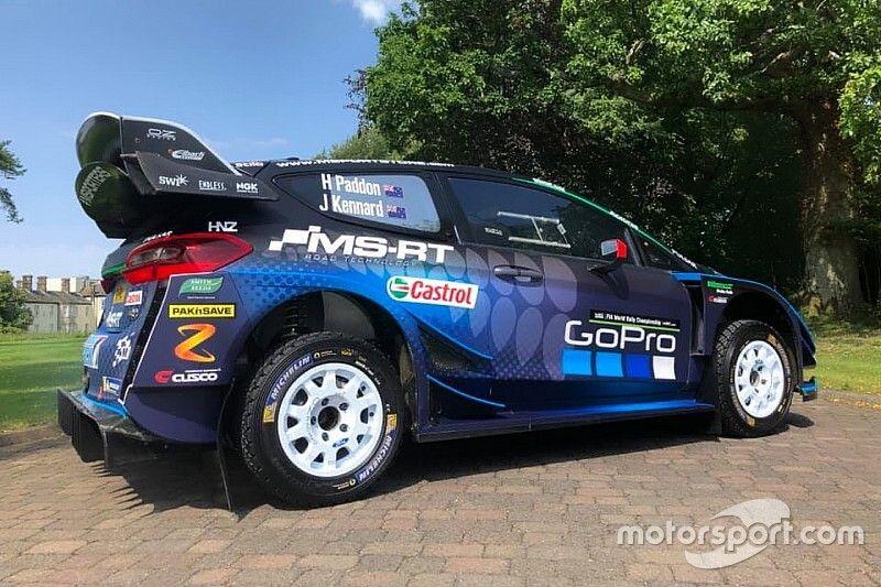 Paddon revela la decoración del Ford Fiesta con el que vuelve al WRC