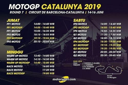 Jadwal lengkap MotoGP Catalunya 2019