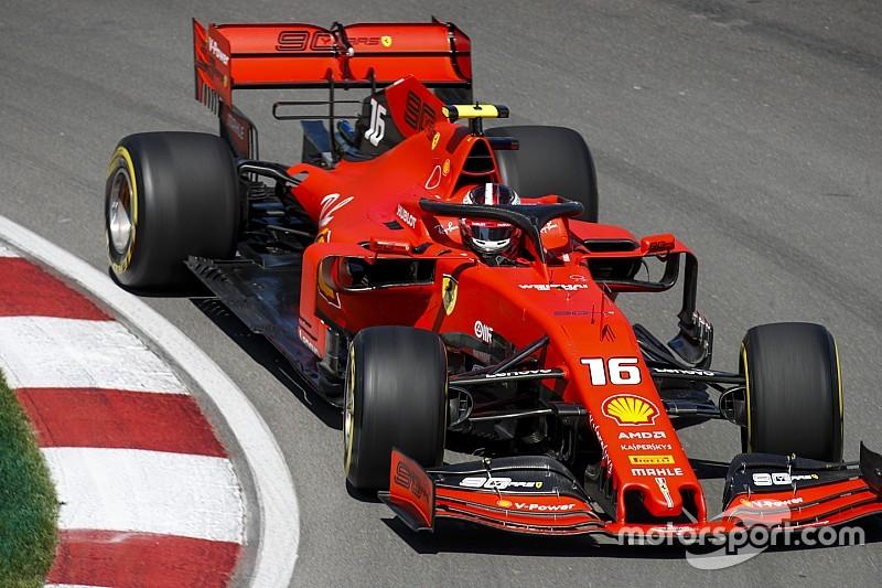 Kanada GP 2. antrenman: Leclerc lider, Hamilton duvara çarptı