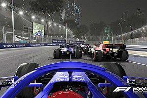 Részletesebb képek az F1 2019 éjszakai módjáról