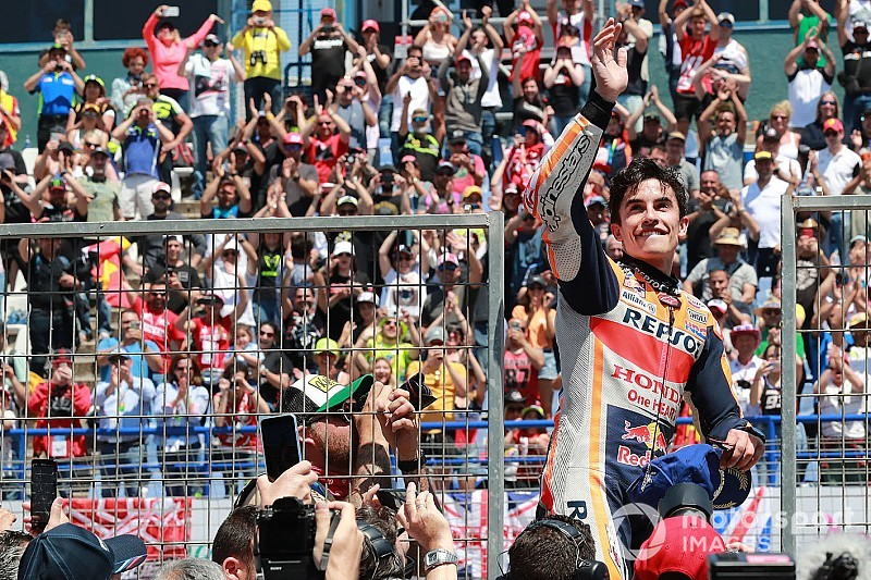 Márquez se impone sin oposición en Jerez