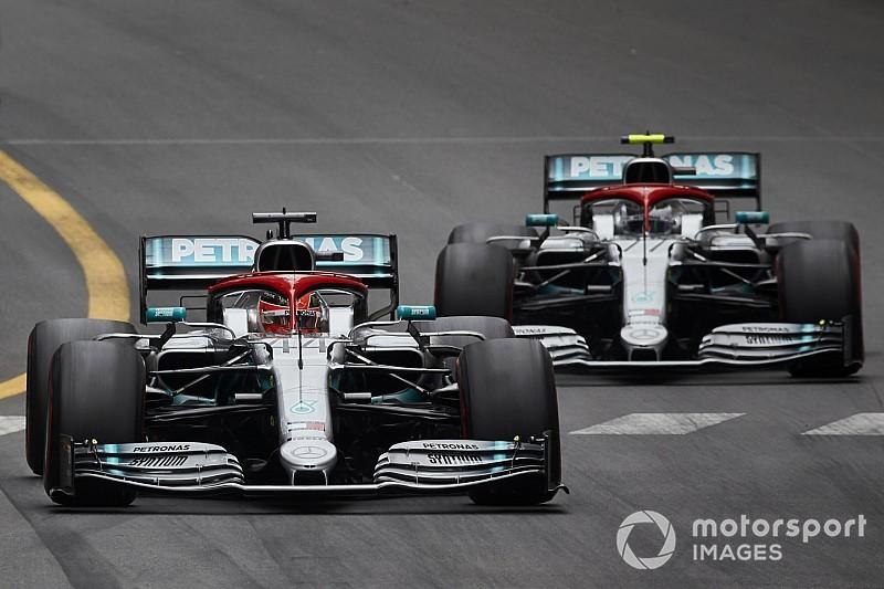 Hamilton verwacht nieuwe motorupgrade van Mercedes in Canada