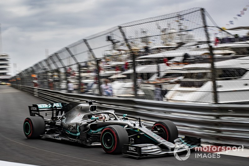Monaco GP: Hamilton tops FP2 as Mercedes dominates