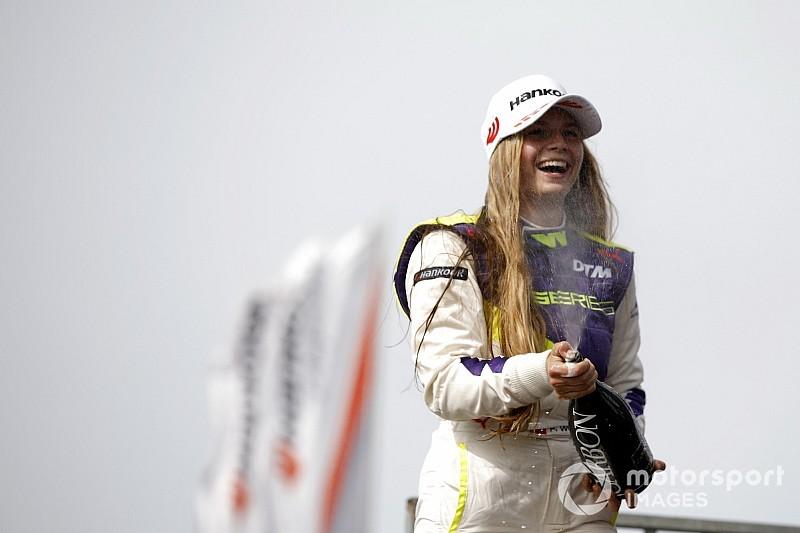 Premier podium en W Series pour Fabienne Wohlwend