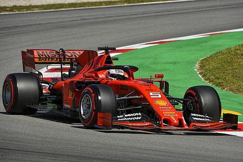 El déficit con Mercedes es real, dice Vettel