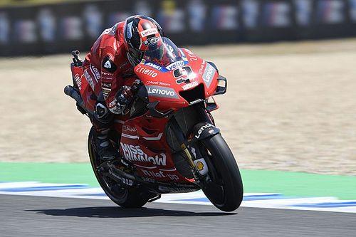 FP2 MotoGP Spanyol: Petrucci tercepat, giliran Ducati 1-2