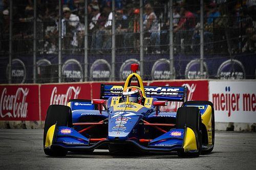 Rossi centra la pole per Gara 1 a Detroit, Newgarden comanda il Gruppo 1
