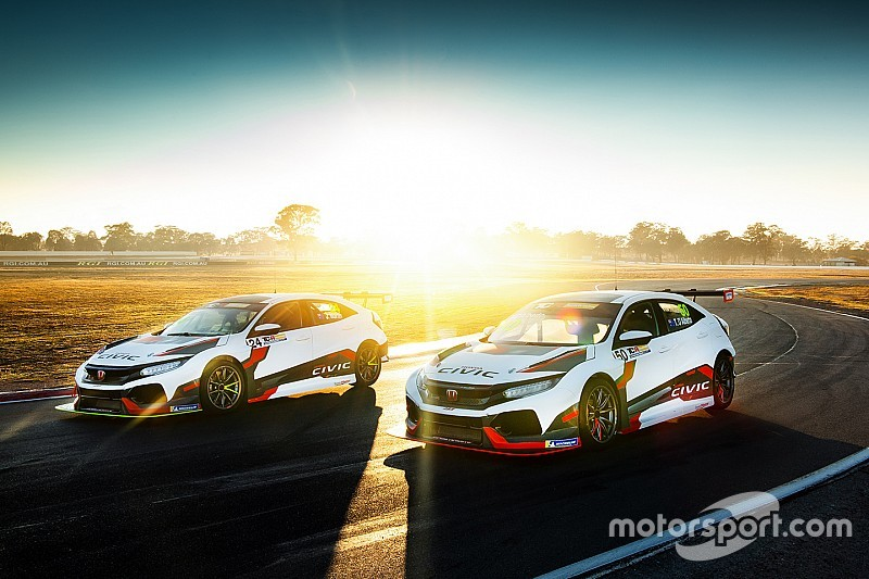 Factory Honda backing for TCR Australia entry