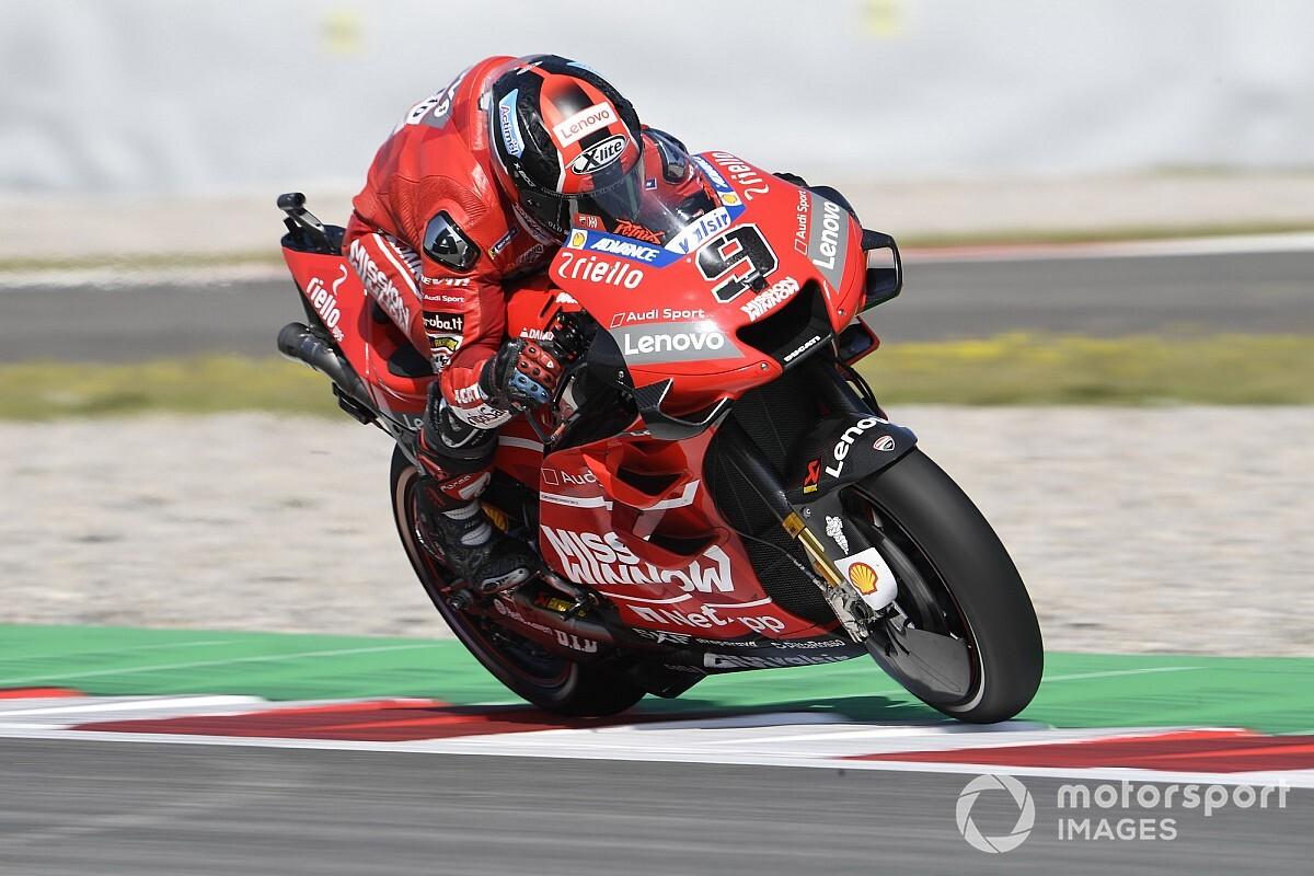 Petrucci chce zostać w MotoGP