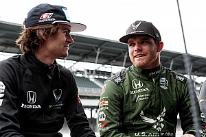 Herta leads rookies, Alonso gets first Indy laps of 2018