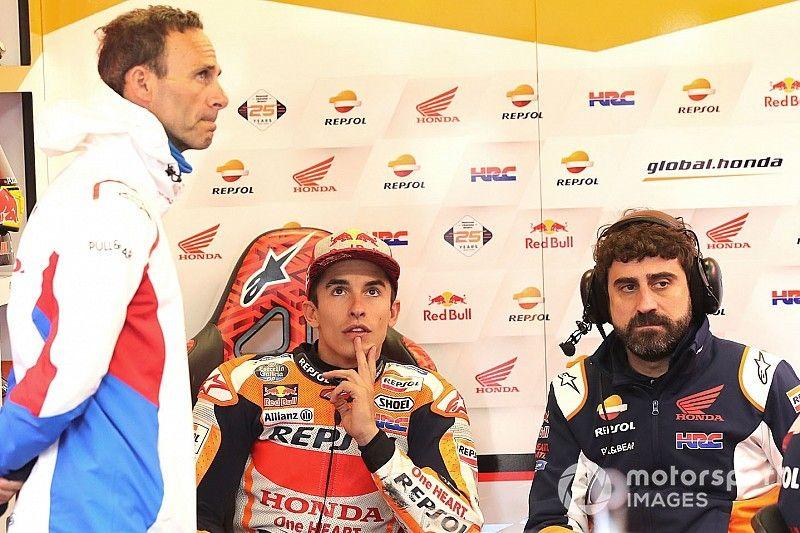 """Márquez responde a Lorenzo: """"Honda siempre sigue la evolución del piloto más rápido"""""""
