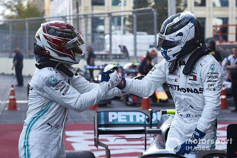 """Le """"respect"""" entre Hamilton et Bottas protège Mercedes du passé"""