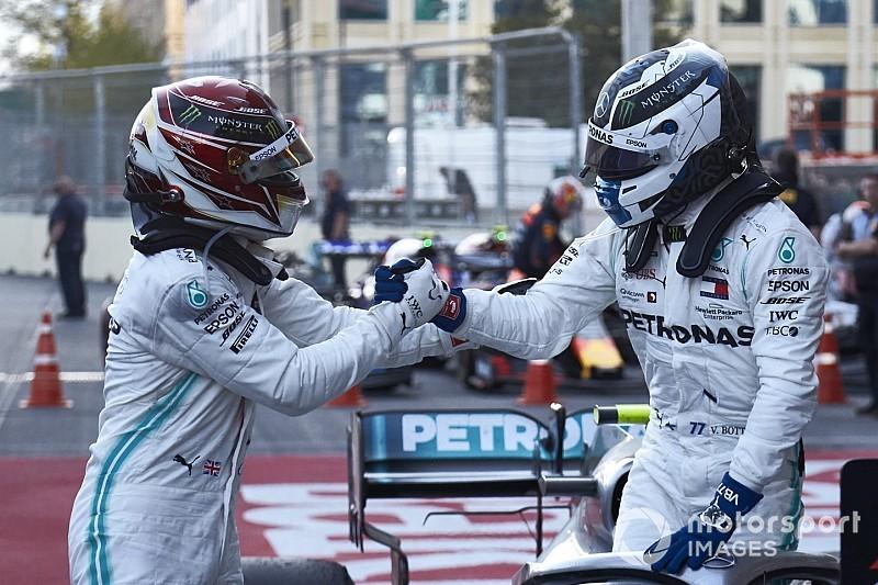 Hamilton: Bottas'la aramızdaki saygı sayesinde Rosberg'le olan durum yaşanmayacak