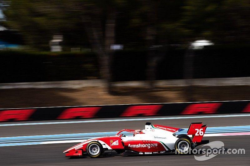 Armstrong consigue la pole en F3