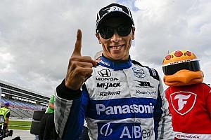 Dziewiąte pole position Sato