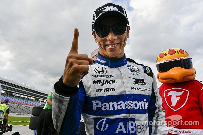 Texas IndyCar: Sato claims ninth career pole