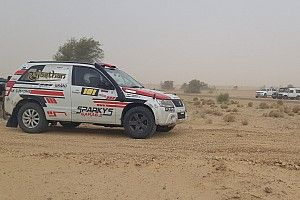Desert Storm: Mishra wins as Mahindra falters