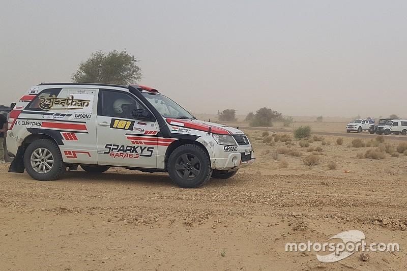 Desert Storm: Mishra wins as Mahindra falters