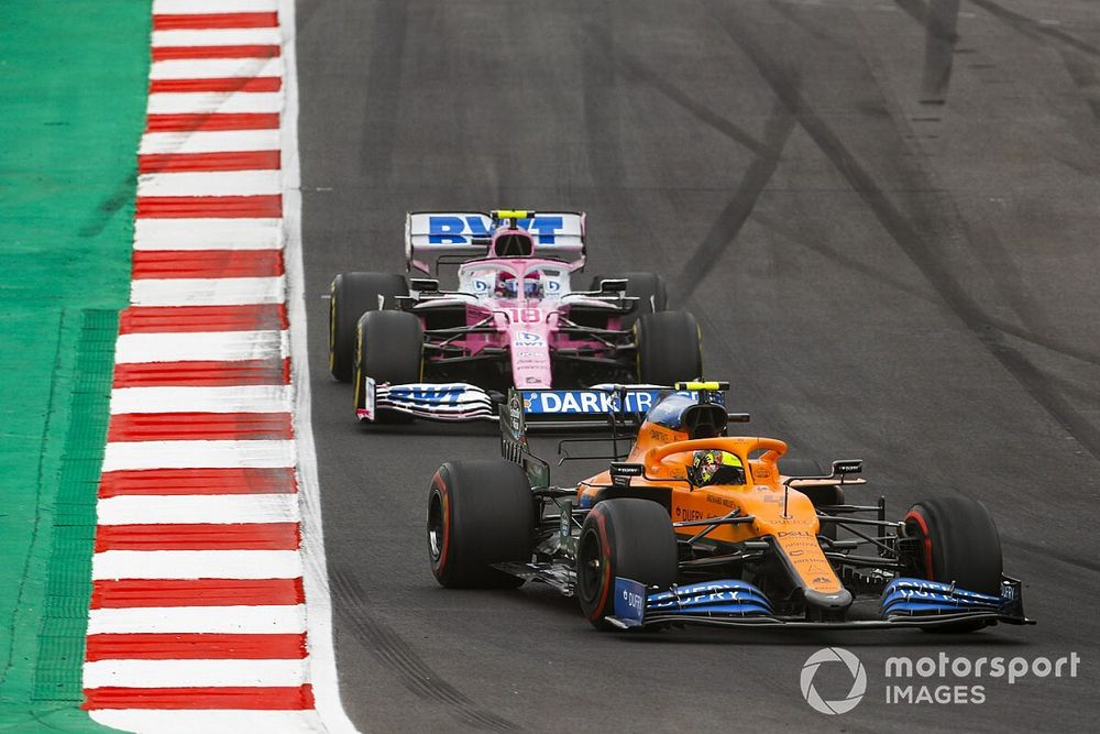 """Norris says Stroll """"doesn't seem to learn"""" after clash"""