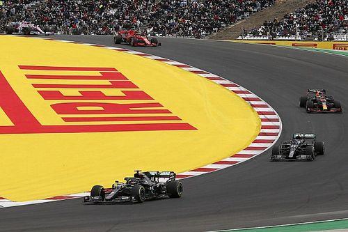 Formel 1 Portugal 2020: Die animierte Rundentabelle
