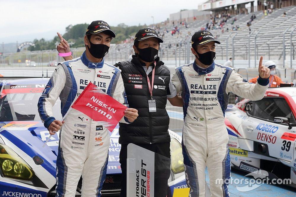 56号車リアライズの藤波、今季初勝利も「これで満足せずチャンピオンを目指したい」